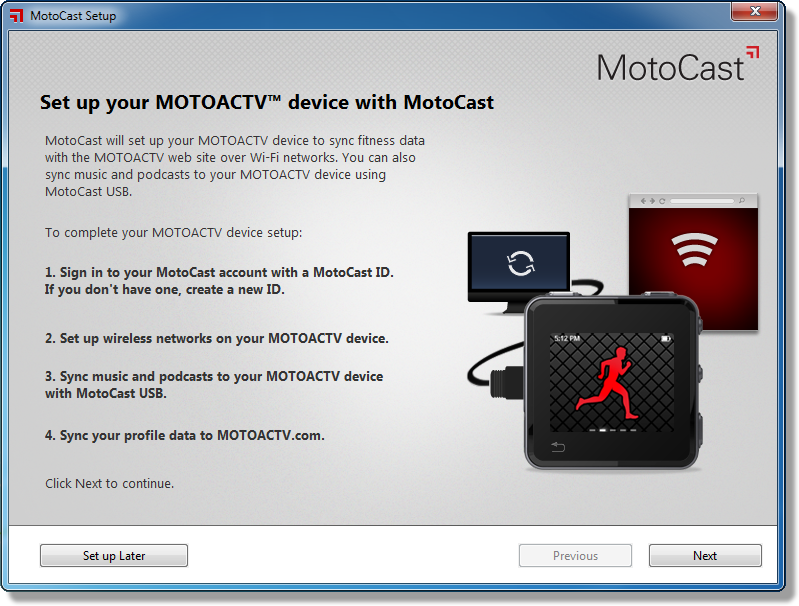 Motocast For Windows