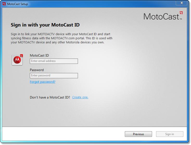 Motocast Software